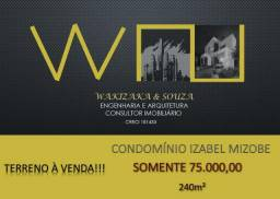Terreno Condomínio Izabel Mizobe