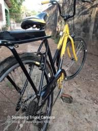 Bicicleta poti Caloi Preta com amarelo - 2019