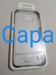 Capa Samsung Galaxy S7 Edge Clear Cover (EF-QG935)