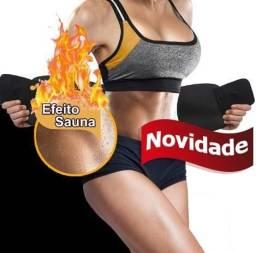 Cinta Modeladora Burn Fat + Gel Redutor Grátis - Sucesso de Vendas