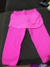 Calça leg rosa da Oxyfit linda tamanho único