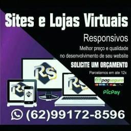 Criação de Sites e/ou Lojas Virtuais