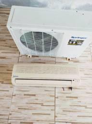 Vendo ar condicionado Springer 12.000 BTUs quente e frio