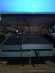 PS4 FAT 1TB desbloqueado versão 6.72.