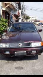 VW Volkswagen Santana GL 95 2.0 Vermelho (aceito troca)