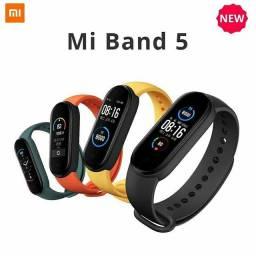 Relógio Smartband Xiaomi Mi Band 5 Pronta Entrega