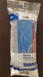 Reator Eletrônico 1x26 bivolt 127/220v Trancil