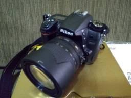Nikon D7000+Lente 18x105mm