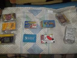 Lote de 1200 cartões telefônicos com dois álbuns de brinde