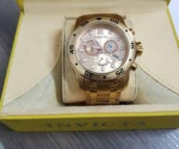 Relógio Invicta Pro Diver 80071 Dourado