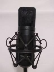 Microfone condensado Arcano USB Black 01