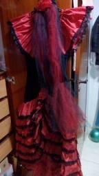 Vestido espanhola novinho