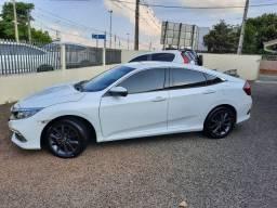 Honda \ Civic EXL 2.0 Flex Automático / Único Dono / Baixissimo Km / Ano 2020