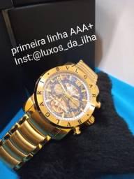 Relógio Automático Bvlgari Primeira Linha AAA+ Com 1 ano de garantia (LEIA O ANÚNCIO ?)