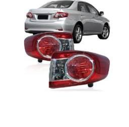 Par Lanterna Traseira Toyota Corolla 2012 2013 2014 Canto