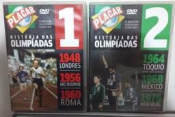 DVD Historia das Olimpíadas 1948 a 2000