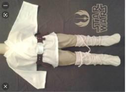 Título do anúncio: Linda fantasia infantil Jedi Star Wars