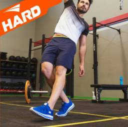 Tênis masculino original HARD macio para academia - Azul