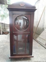 Título do anúncio: Caixa de Relógio de Parede Antigo.