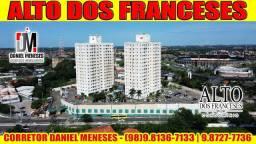 Alugo Alto dos Franceses | 2 quartos | 2 banheiros | 53m² | Outeiro da Cruz