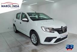 Renault Sandero Life (( Único Dono )) 1.0 Manual- 2020
