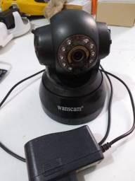 Camera de segurança 360 WiFi Marca Wanscam visão noturna.
