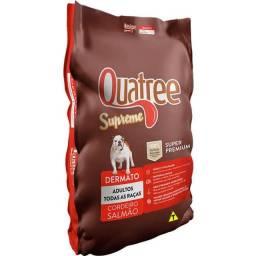 Ração Super Premium Quatree Supreme Dermato Cordeiro e Salmão Cães Adultos 15kg