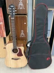 Violão folk shelby+ Bag acolchoada top