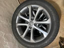 Rodas 15 4furos original Volkswagen