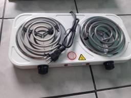 Fogão 2 bocas elétrico Novo Regulagem de temperatura