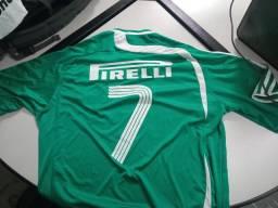 Camisa do Palmeiras autografada Edmundo