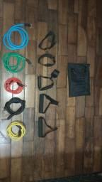 Kit Elásticos Extensores - 11 peças