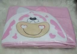 toalhas com capuz e forro de fralda 100% algodão