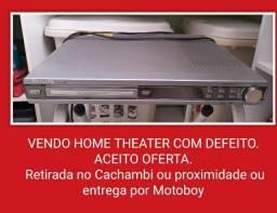 VENDO HOME THEATER COM DEFEITO.  ACEITO OFERTA.