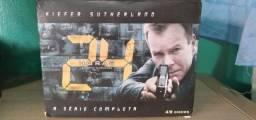 BOX série 24 Horas (49 discos) - 8 temporadas completas + filme