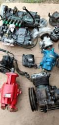 Bombas hidráulica e compressores