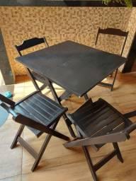 Título do anúncio: Jogo de mesa e cadeira, mesa para escritório