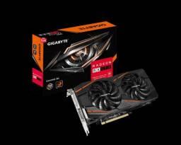 Placa de Video AMD Radeon RX590 8Gb -Com Caixa ( Rx 590 Rx580 580 Rx480 480 Rx570 570