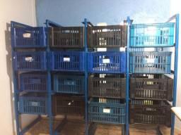 Caixas plástica para organização