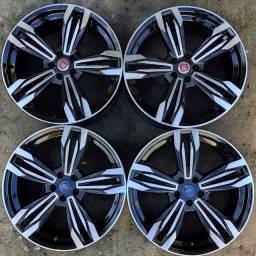 Rodas aro 20(Ford Focus) + 4 pneus 225/35 R20 zerados!(4.899$ até 10x sem juros no cartão)