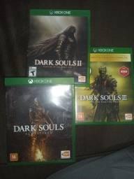 Título do anúncio: Dark souls trilogia Xbox one