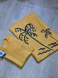 Camisas malhao osklen - 3 por 130,00