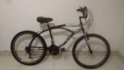 Bicicleta caiçara aro 26 com 18 marchas semi nova