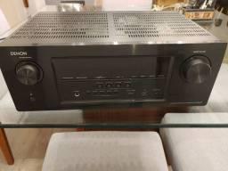 Receiver Denon AVR-S900W wi-fi bluetooth 2 zonas 7.2 canais home theater
