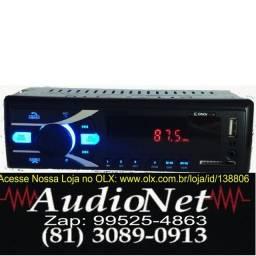 Radio Com Bluetooth Automotivo Fm Pen Usb Sd Aux Mp3 pendrive Player Cinoy
