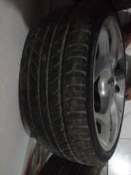 Venda de jante 17 com pneu.