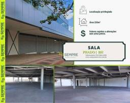 Título do anúncio: Sala para alugar, 230 m² - Prado - Belo Horizonte/MG