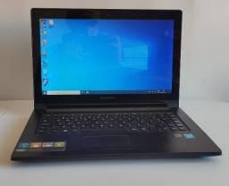 Lenovo G400s Touch Intel i7, 16Gb de memória e HD ssd 120 Gb