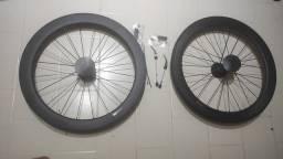 Rodas de carbono para bike speed