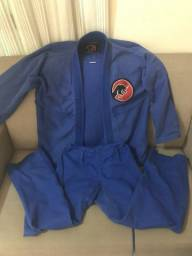 Kimono A2 azul